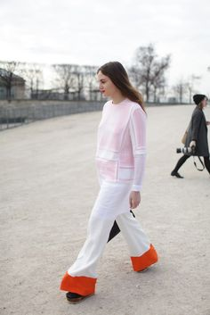 Paris Fashion Week street style / #MIZUstyle