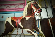 Vintage Rocking Horse by TheTwistedHouse on Etsy
