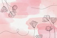 Pink Floral Background, Vintage Floral Backgrounds, Abstract Backgrounds, Wallpaper Backgrounds, Blush Pink Wallpaper, Kawaii Wallpaper, Framed Wallpaper, Macbook Wallpaper, Pc Hp