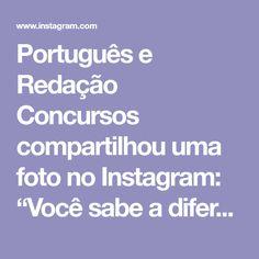 """Português e Redação Concursos compartilhou uma foto no Instagram: """"Você sabe a diferença entre compreensão e Interpretação de textos?🤔 Leia o post e aprenda!😃…"""" • Veja 933 fotos e vídeos em seu perfil. Fotos Do Instagram, Foto E Video, Pageants, Texts, Profile"""
