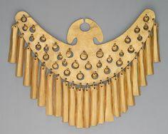 // Nose ornament, 1st–7th century Colombia