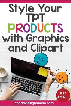 Ready to amp up your TPT products by adding cute graphics and teacher fonts? You've noticed that sellers use unique graphics and fonts for TPT products. Teacher Fonts, Teacher Blogs, Teacher Hacks, Your Teacher, Teacher Pay Teachers, Importance Of Time Management, Teacher Created Resources, Math Lessons, Clip Art