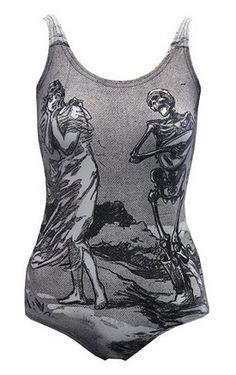 DDG Romance is Dead Bodysuit #summer #goth #gothic #style