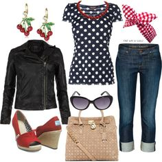 """Rockabilly"" by ohthatsarahh on Polyvore"
