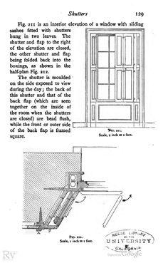 Victorian Interior Shutters Bi-fold Interior Shutters