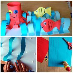 Pro Šíšu: Období LÉTO Ocean Themes, Sea Creatures, Techno, Crafts For Kids, Draw, Outdoor Decor, Homeschooling, Manualidades, Bricolage