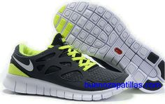 best service d14e1 4abfe Find Men Nike Black Green White Free Run+ 2 Shoes online or in Curryshoes.  Shop Top Brands and the latest styles Men Nike Black Green White Free Run+  2 ...