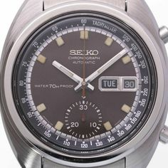 SEIKO Chronograph 6139-6010 Matt Brown Dial Automatic Vintage Watch 1979's OH | eBay Matt Brown, Seiko Watches, Vintage Watches, Chronograph, Watches For Men, Ebay, Antique Watches, Top Mens Watches, Men's Watches