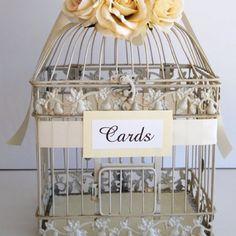 Love the bird cage idea