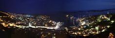 Hvar Panorama at Night by 3x10e8 on 500px