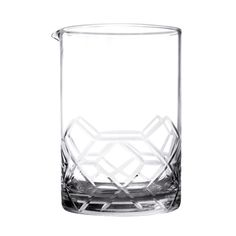 A great looking Asanoha Extra Large Mixing Glass with geometric pattern.