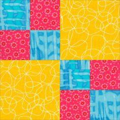 Free Fat Quarter-Friendly Quilt Patterns | AllPeopleQuilt.com ... : quilt block patterns free beginners - Adamdwight.com