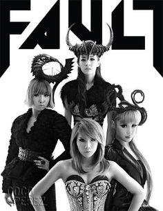 2NE1 for FAULT! Girls Rock