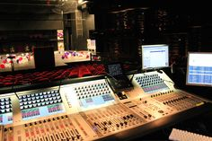 Two Studer Vista 5 consoles in the Royal Danish Playhouse