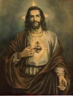 """O' Sacred Heart of Jesus, fountain of eternal life, Your Heart is a glowing furnace of Love. You are my refuge and my sanctuary."" ~St. Gertrude the Great"