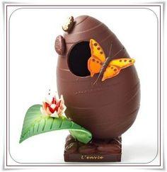 Easter, Chocolate, Dessert, Decoration, Art