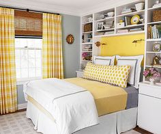 2014 Clever Bedroom Makeover from BHG : Before and After