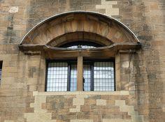 Glasgow, Scotland Glasgow School of Art (window on the east facade)