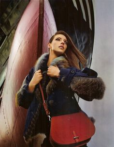 Chicago Magazine (September Featuring the Alto Saddle Bag. Chicago Magazine, Dooney Bourke, Saddle Bags, Leather Bag, Purses And Bags, September, Winter Jackets, Love, Shoes