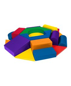 Take a look at this ECR4Kids SoftZone® Wheel Play Set today!