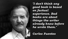 The great Mexican novelist, Carlos Fuentes. (RIP)