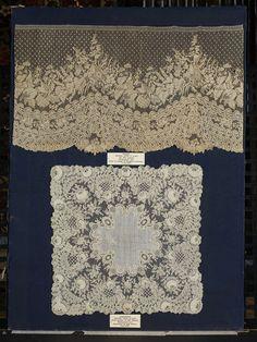 Flounce, Flemish, Brussels needle lace 1830-1870