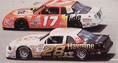Davey Allison Car | 28 Havoline Davey Allison 1987-88 Powerslide model car nascar decals ...