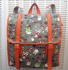 Hayao miyazaki My neighbor Totoro Backpack Bag by Animebag on Etsy, $36.99