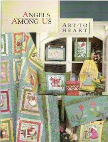 Madame Frufru Patchwork: Revista Art to heart - Angels Among Us Angels Among Us, Patch Quilt, Applique Quilts, Sewing Magazines, Birthday Scrapbook, Patch Aplique, Book Quilt, Book Crafts, Craft Books