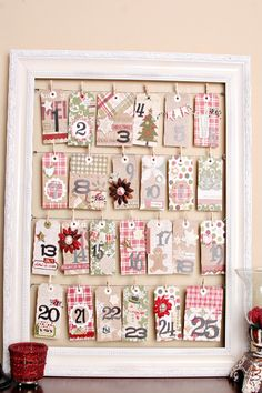 Count down to Christmas with the #epiphanycrafts Shape Studio Tools. www.epiphanycrafts.com #christmas