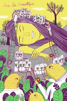 Viva la Fonoteque by Joan X. Vazquez, via Behance