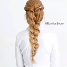 - Awesome Braid By: @estellessecret - TAG a friend who would want to try!