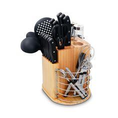 Ragalta Carousel Plcks-200B Black 31-piece Knife Set (Stainless Steel)