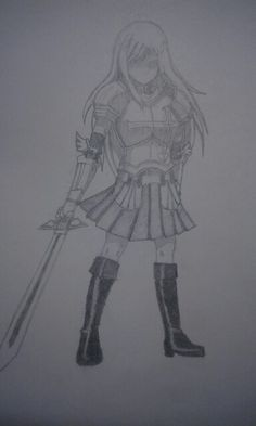 Erza Scarlet - Heart kreuz armor