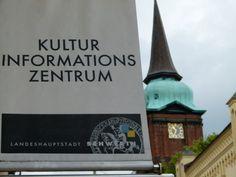 Frank Koebsch zeigt eine Auswahl seiner Aquarelle in Schwerin | KIZ Schwerin bei der Schelfkirsche (c) Frank Koebsch