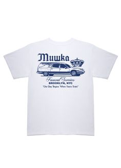 Funeral Services T-Shirt (White) | Mishka NYC