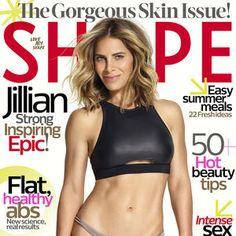 Image result for jillian on the cover of shape