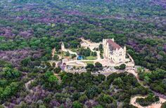 In the midst of the Texas Hill Country lies Falkenstein Castle between Burnet & Marble Falls.  How come I didn't know about this?