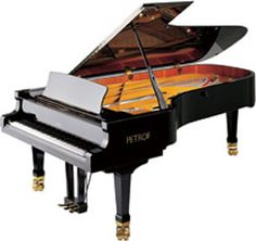 """Petrof I Mistral 283cm (9'3"""") Grand Piano...wow this thing is like twice me! I want to live in it!"""