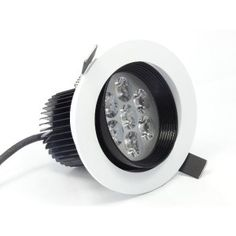 Black and White LED Downlight