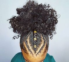 Craving more? Like what you see? ?@Pinterest Queen?f????? ?? f?? ???? ?????? ???? ? (Natural Hair Puff)