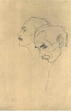 Gustav Klimt art my heart Gustav Klimt Gustav Klimt, Klimt Art, Figure Drawing, Painting & Drawing, Drawing Sketches, Art Drawings, Drawing Ideas, Kunst Online, Portrait Art