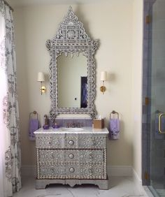 Take a moment to check out a few of DIY vanity mirror concepts that we have actually collected as well as hopefully, it will certainly offer some ideas. Diy Vanity Mirror With Lights, Huge Mirror, Mirror Ideas, Round Mirrors, Mirror Mosaic, Bar Areas, Check, Home, Ad Home