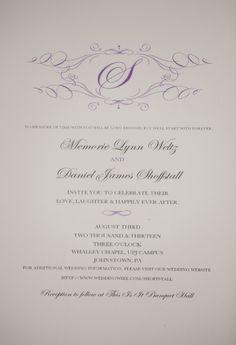 Formal Invitation Templates Wedding Reception Invitationwhiterabbitprint On Etsy $30.00 .