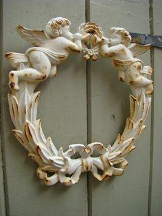 ♥this is an adorable cherub wreath!