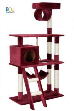 Obdarujte svojho domáceho miláčika skutočným mačacím rajom. Môže si na ňom skvele oddýchnuť, ponaťahovať a hrať sa, precvičiť a naostriť si svoje pazúriky. Sisalovým vláknom omotaný škrabací strom a visiace povrázky sa postarajú o dostatok podnetov pre zábavu vášho štvornohého spoločníka. Wine Rack, Storage, Furniture, Home Decor, Purse Storage, Decoration Home, Room Decor, Larger, Home Furnishings