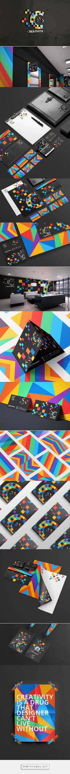 Creativita brand identity                                                                                                                                                                                 Más
