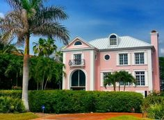 Cocoscollections Pink house Captiva Florida | Beach cottage ...