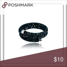 Elegant Black Crystal Bracelet Elegant Black Crystal Bracelet  My prices on new items are firm you are  receiving quality products & prompt service.  Buy 3 items 5% off!  Style: Trendy Main Stone: Crystal  Metal:	 Main Color: Black Design: bangle Color: Silver Model: JN5409052-357 Fashion Jewelry Bracelets