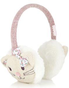 Fluffy Kitten Ohrenwärmer | Creme | Accessorize